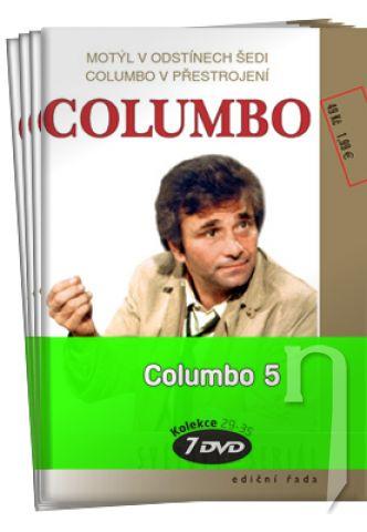 DVD Film - Columbo V. kolekce (7 DVD)