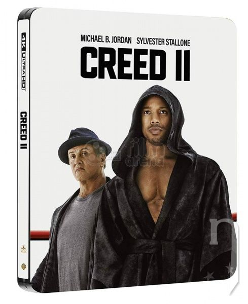 BLU-RAY Film - Creed II (4K Ultra HD + Blu-ray) - Steelbook