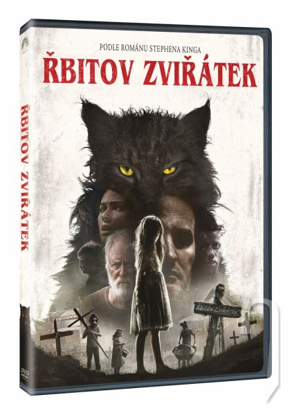DVD Film - Řbitov zviřátek