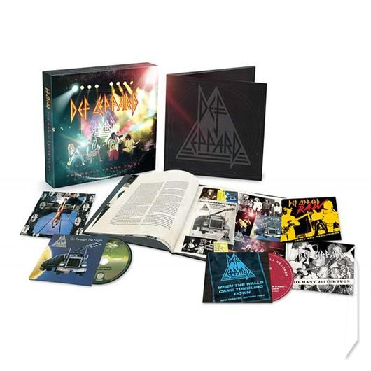 CD - DEF LEPPARD - THE EARLY YEARS (BOX SET) (5CD)