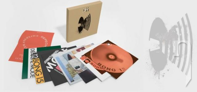 LP - DEPECHE MODE - MUSIC FOR THE MASSES (BOX SET, LIMITED EDITION)