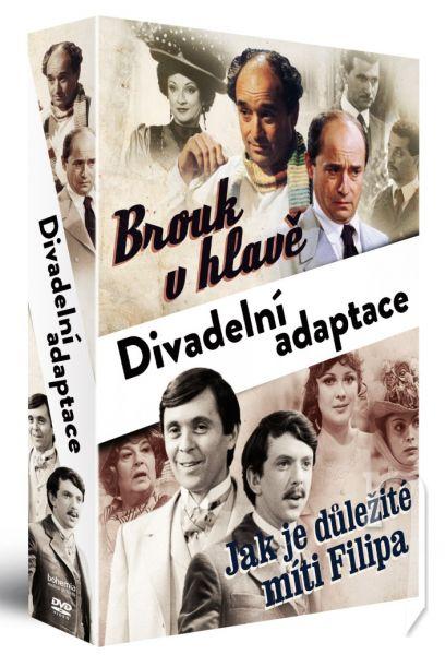 DVD Film - Divadelní adaptace (2 DVD)