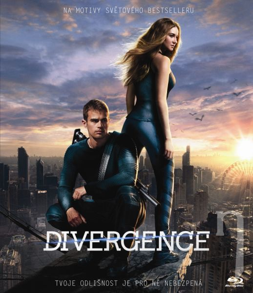 BLU-RAY Film - Divergencia - Digibook
