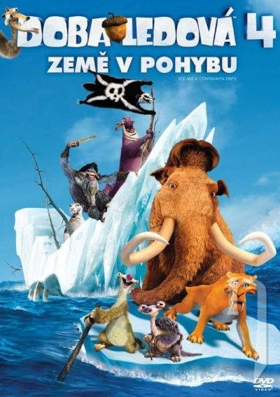 DVD Film - Doba ľadová 4: Zem v pohybe