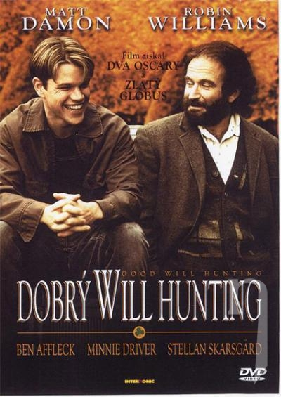 DVD Film - Dobrý Will Hunting