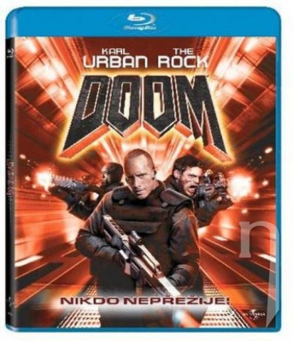 BLU-RAY Film - Doom (Blu-ray)