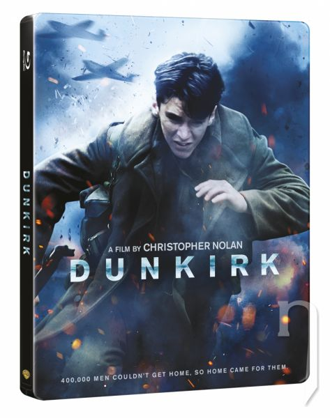 BLU-RAY Film - Dunkirk - steelbook