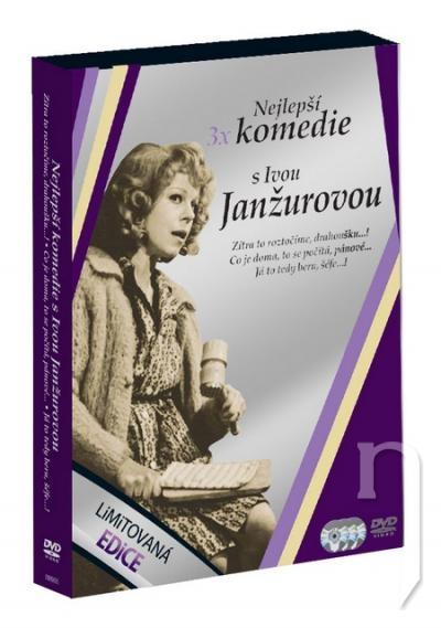 DVD Film - DVD kolekcia: Najlepšie komédie s Ivou Janžurovou (3 DVD)