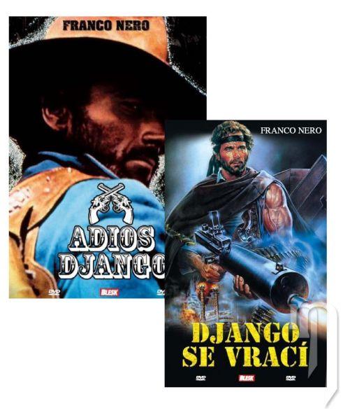 DVD Film - DVD sada: Adios Django + Django se vrací (2 DVD)