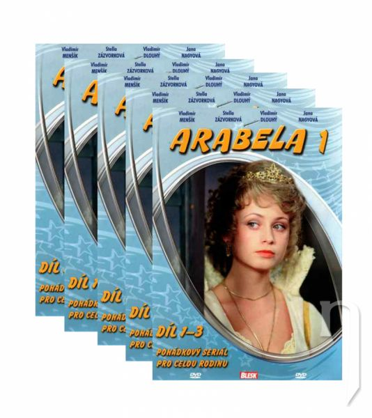 DVD Film - DVD sada: Arabela (5 DVD)