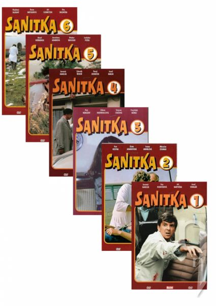 DVD Film - DVD sada: Sanitka (6 DVD)