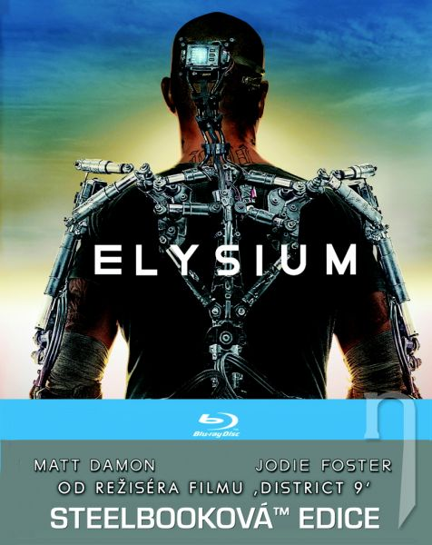 BLU-RAY Film - Elysium - Steelbook