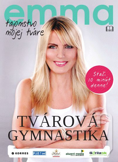 Kniha - emma - tvárová gymnastika (kniha + dvd + vitamíny)