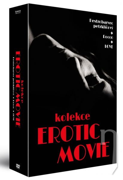 DVD Film - Erotic movie (3 DVD)
