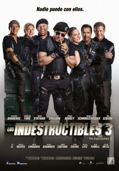 BLU-RAY Film - Expendables 3