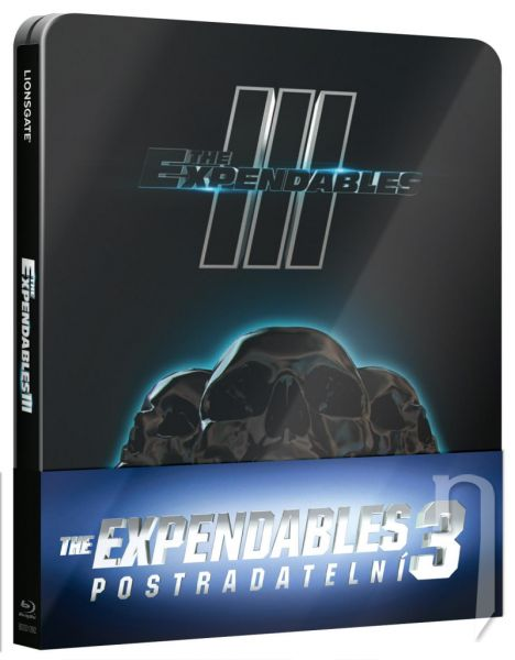 BLU-RAY Film - Expendables 3 - Steelbook