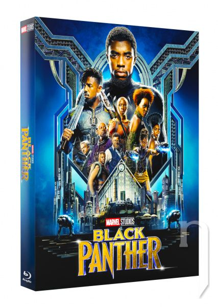 BLU-RAY Film - FAC #122 BLACK PANTHER FullSlip + Lenticular Magnet EDITION #1 3D + 2D Steelbook™ Limitovaná sběratelská edice - číslovaná (Blu-ray 3D + Blu-ray)