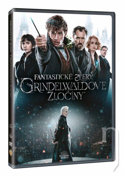 DVD Film - Fantastická zvířata: Grindelwaldovy zločiny