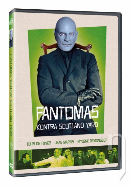 DVD Film - Fantomas kontra Scotland Yard