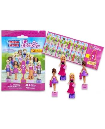 Figurka Barbie v balíčku - Mega Bloks - 3cm