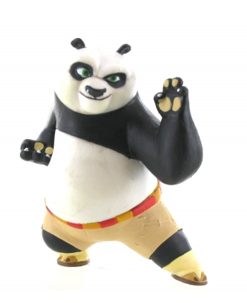 Figúrka bojovníka Po - Kung Fu Panda (6 cm)