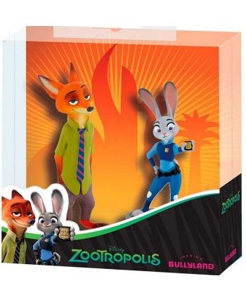 Figúrka Judy Hopps a Nick Wilde - Zootropolis (10 + 8 cm)