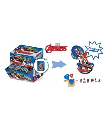 Figúrka Marvel Avengers vo vajíčku - 6,5 cm