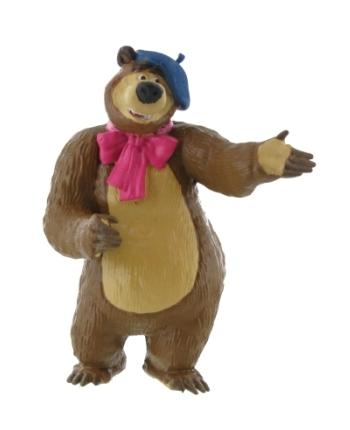 Figúrka Medveď Miško Maliar - Máša a Medveď (8 cm)