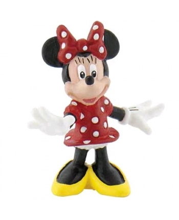 Figúrka Minnie Mouse stojaca (4 cm)