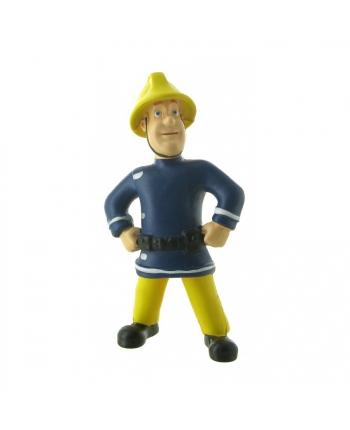 Figúrka Požiarnik Sam - Požiarnik Sam s helmou - 7.5 cm