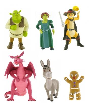 Figúrka - Shrek (6-9 cm) - displej 24 ks