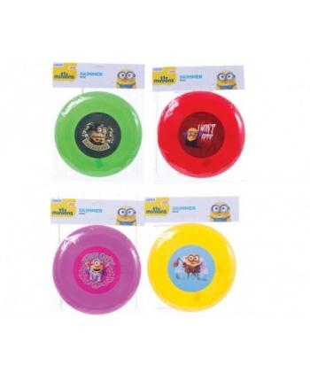 Frisbee disk na hádzanie Mimoni (20 cm) - 4 druhy