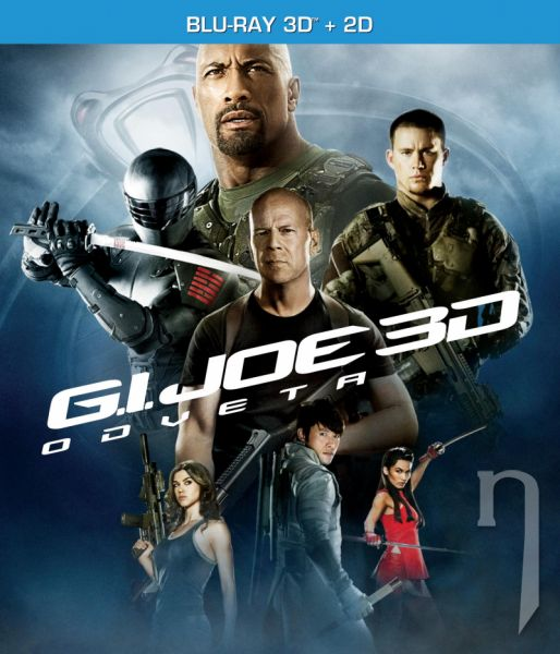 BLU-RAY Film - G.I. Joe 2: Odveta (3D + 2D)