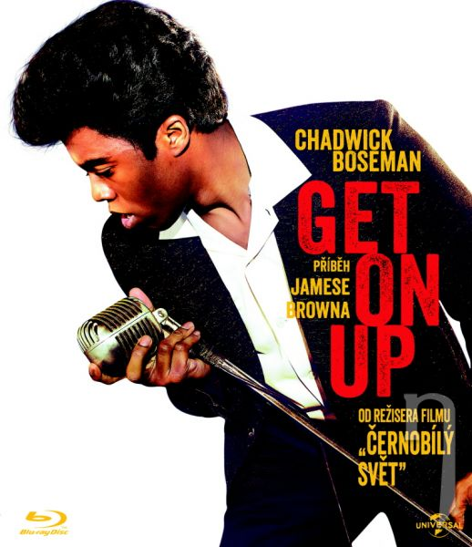 BLU-RAY Film - Get On Up - Príbeh Jamesa Browna
