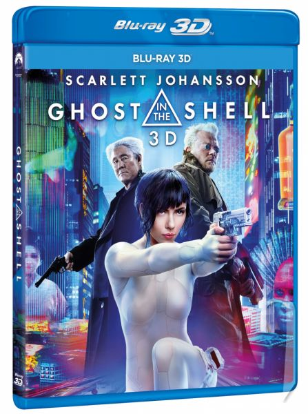 BLU-RAY Film - Ghost in the Shell - 3D
