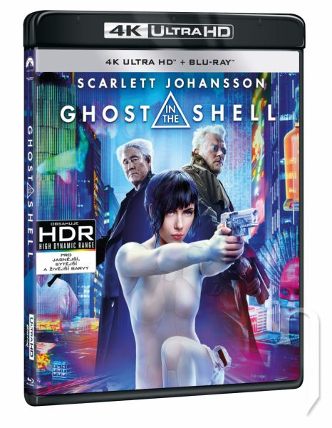 BLU-RAY Film - Ghost in the Shell (UHD+BD)