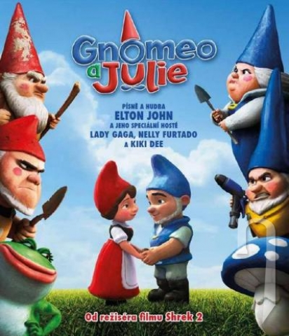 BLU-RAY Film - Gnomeo & Julie
