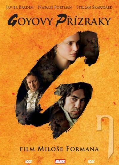 DVD Film - Goyove prízraky (papierový obal)