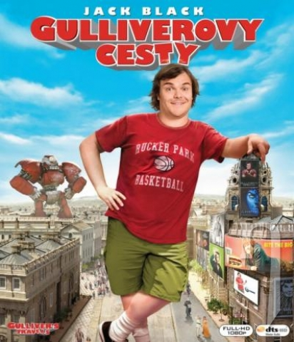 BLU-RAY Film - Gulliverove cesty (3D + 2D) (Bluray)