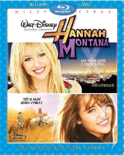 BLU-RAY Film - Hannah Montana: Film (Blu-ray) + DVD