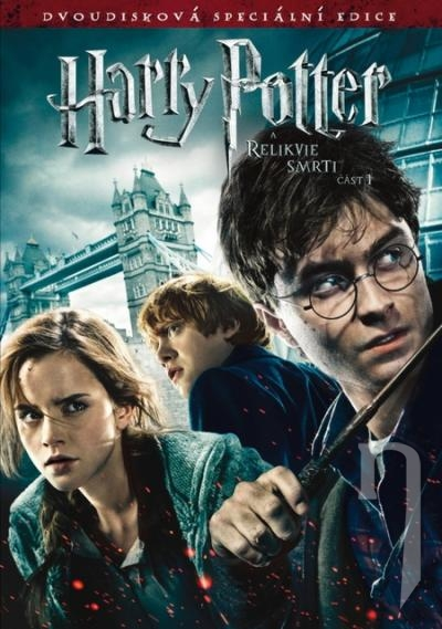 DVD Film - Harry Potter a Dary smrti - 1.časť (2 DVD)