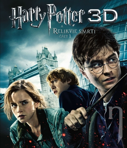BLU-RAY Film - Harry Potter a Dary smrti - 1.časť (3D + 2D 3 Bluray)