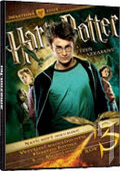 DVD Film - Harry Potter a väzeň z Azkabanu S.E. (3DVD)