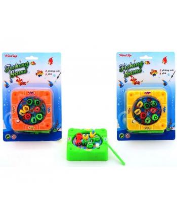 Hra rybičky s udicou na magnet - kartička 3 druhy