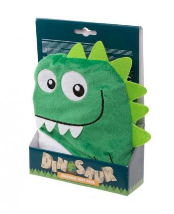 Hrejivý vankúšik dinosaurus zelený - Snuggables (24 cm)