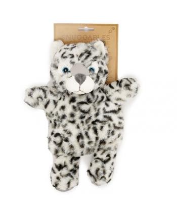 Hrejivý vankúšik - Snežný Leopard - Snuggables - 31 cm
