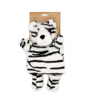 Hrejivý vankúšik - Snežný Tiger - Snuggables - 31 cm