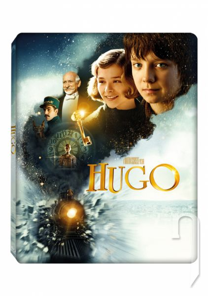 BLU-RAY Film - Hugo a jeho velký objev