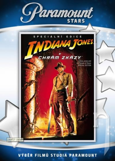 DVD Film - Indiana Jones a chrám skazy