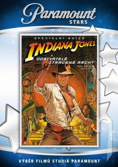 DVD Film - Indiana Jones a dobyvatelia stratenej archy SCE